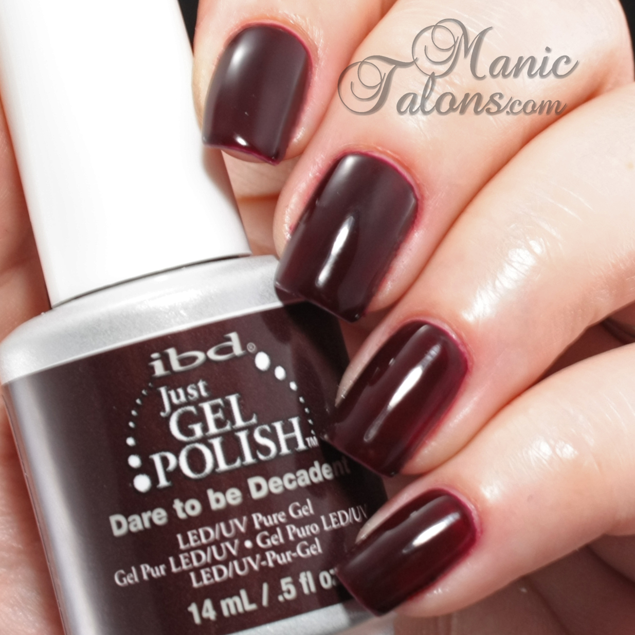 IBD Just Gel Polish Dare to be Decadent Swatch