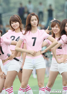Im Yoona Korean Cute Girl Singer Sexy Photo at Namyangju Central Football Game 10