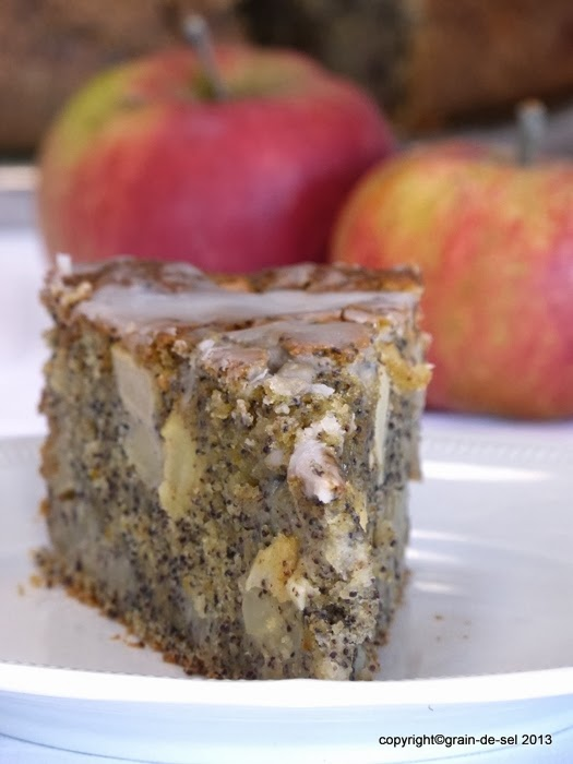 Rundumversorgt Apfel Mohn Kuchen Mit Buttermilch Salzkorn Meine