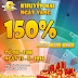 Khuyến mãi ngày vàng 150% giá trị thẻ nạp ngày hôm nay cùng iOnline