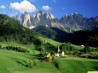 Paisajes de montañas