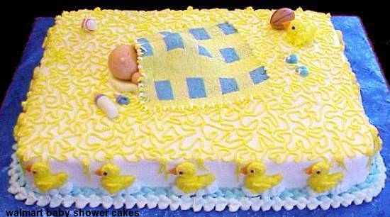 Tips For Walmart Baby Shower Cakes 2015