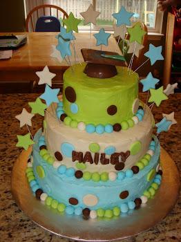 Hailey's Graduation Cake