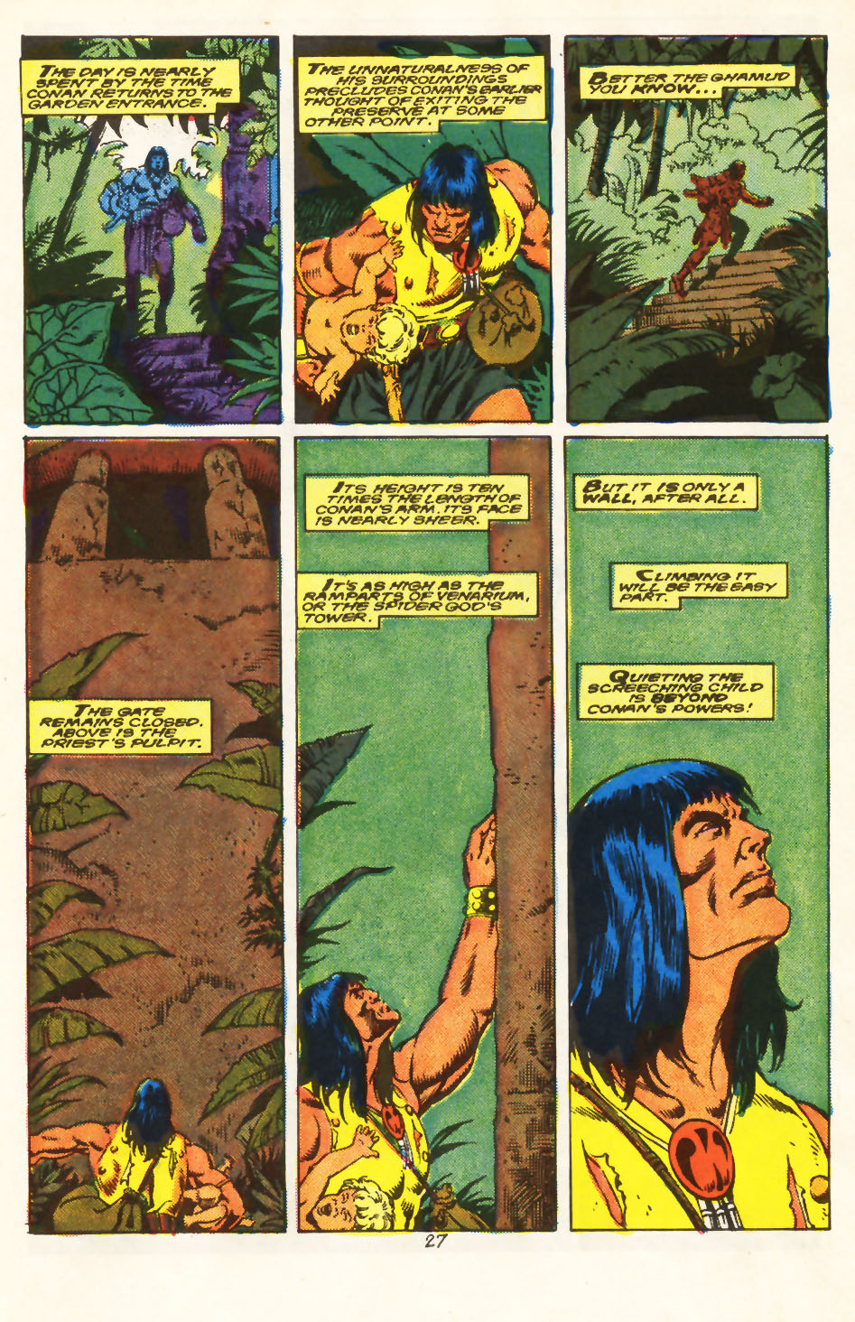 Conan the Barbarian (1970) Issue #213 #225 - English 21