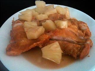 Cocina con Aníbal Pollo con piña