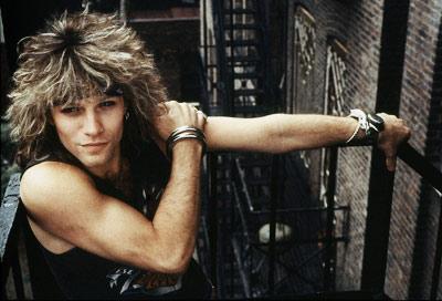 Jon Bon Jovi 80 s