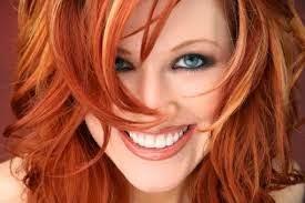 Rubia y su hermoso pelo