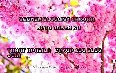 Segmen Bloglist Sakura Blog Qaseh Ku
