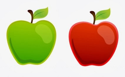 Gallery images and information: Red And Green Apples Clipart