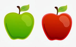 ayo mewarnai buah apel apel adalah jenis buah buahan atau buah yang ...