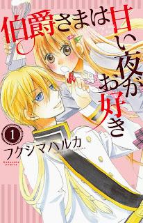 Primeiro volume de Hakushaku-sama wa Amai Yoru ga Osuki - Shoujo Lovers Novidades e informações sobre Shoujo e Josei