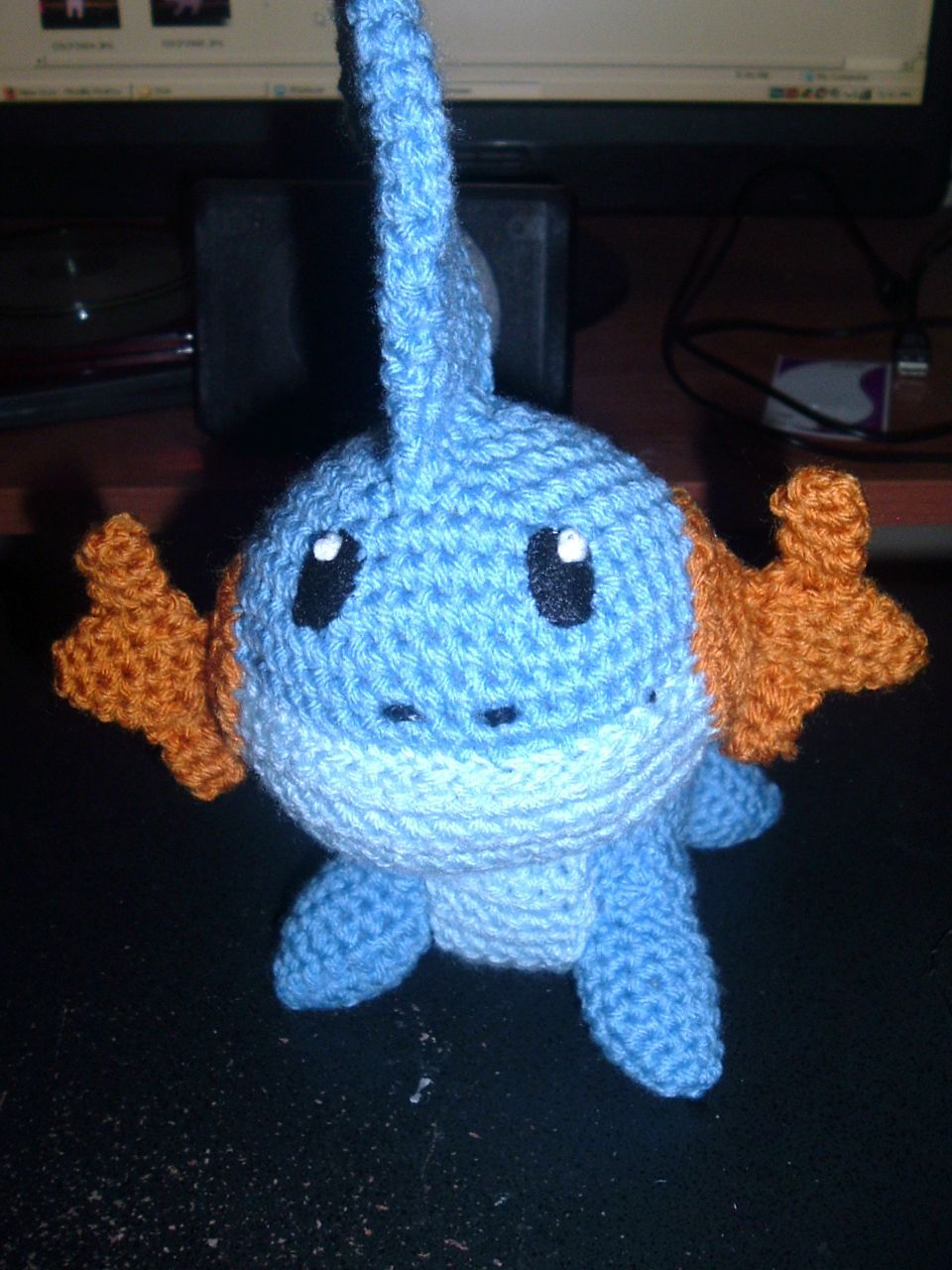 Crochet Patterns Pokemon : 2000 Free Amigurumi Patterns: Mudkip Free Pokemon Crochet Pattern