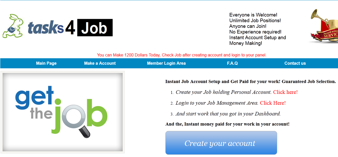 task4job scam