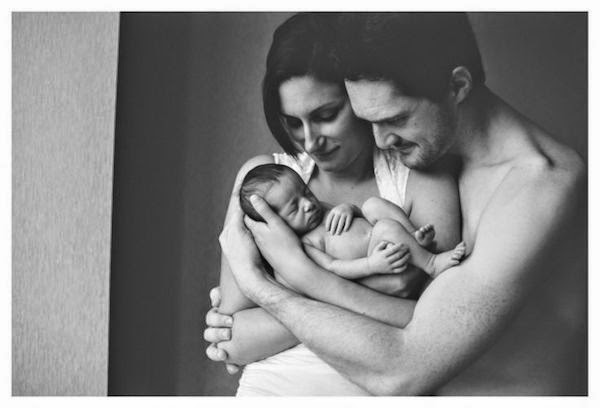 New Born Baby with parents Photography 4