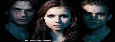Couverture facebook originale vampire diaries