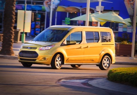 The 2014 Ford Transit Connect Wagon is the #Unminimvan