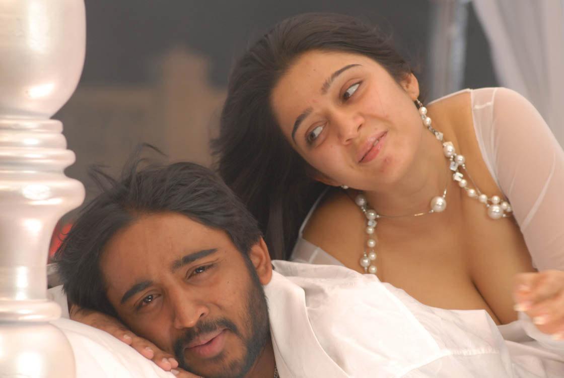 Charmi Kaur hot cleavage