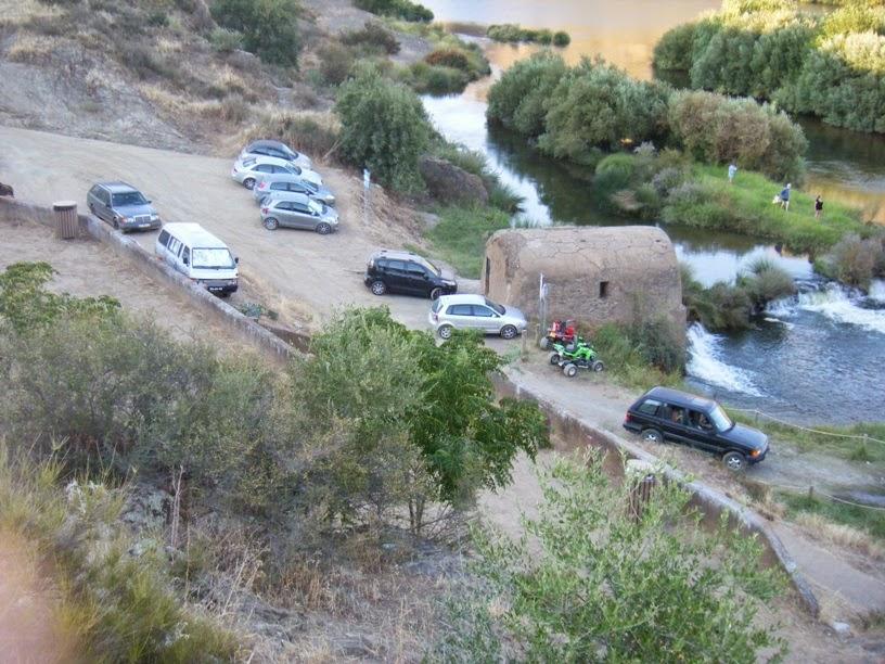 Entrada para o rio Guadiana