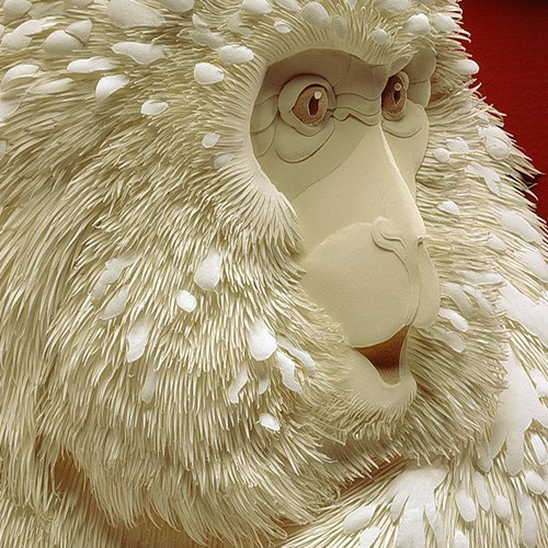 Paper sculpture calvin nicholls for 3d sculpture artists