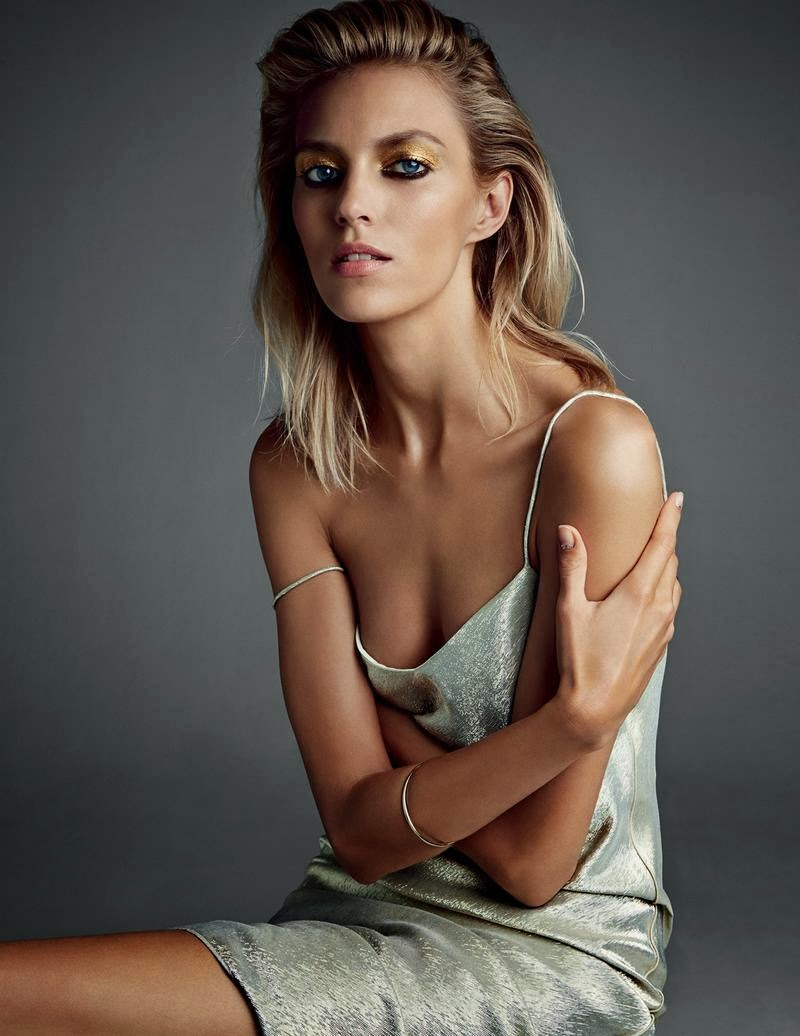 Anja Rubik HQ Pictures Vogue Russia Magazine Photoshoot March 2014 By Patrick Demarchelier