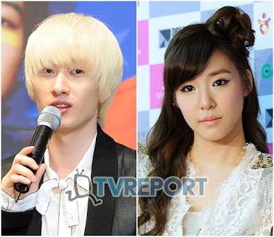 "Tiffany de Girls' Generation y Eunhyuk de Super Junior debutan en el musical ""Fame"" 1131r"
