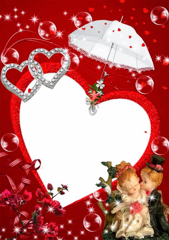 love frame psd | psd frame