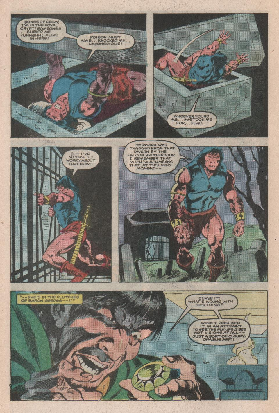 Conan the Barbarian (1970) Issue #171 #183 - English 15