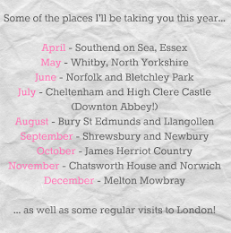 Places We Will Go in 2015