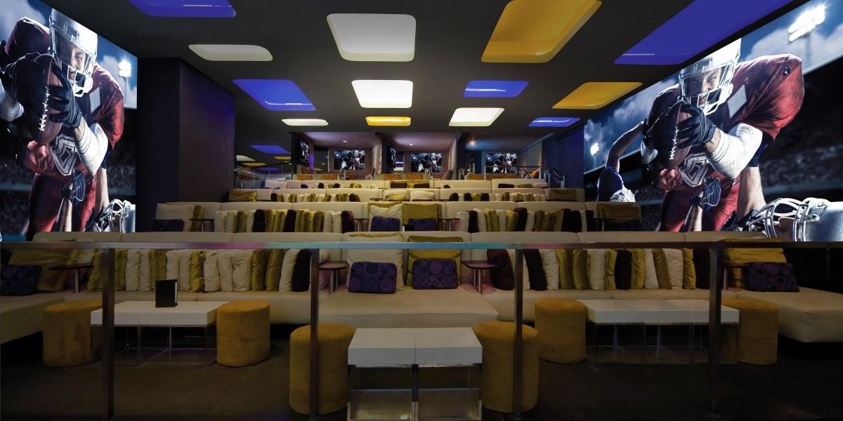 Bar de esportes Lagasse's Stadium em Las Vegas