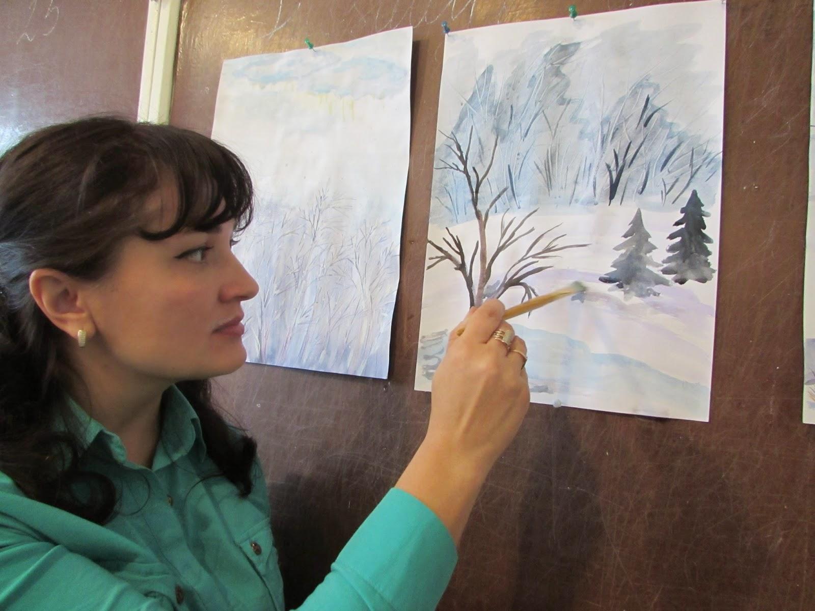 Дитячі картинки малювання про природу