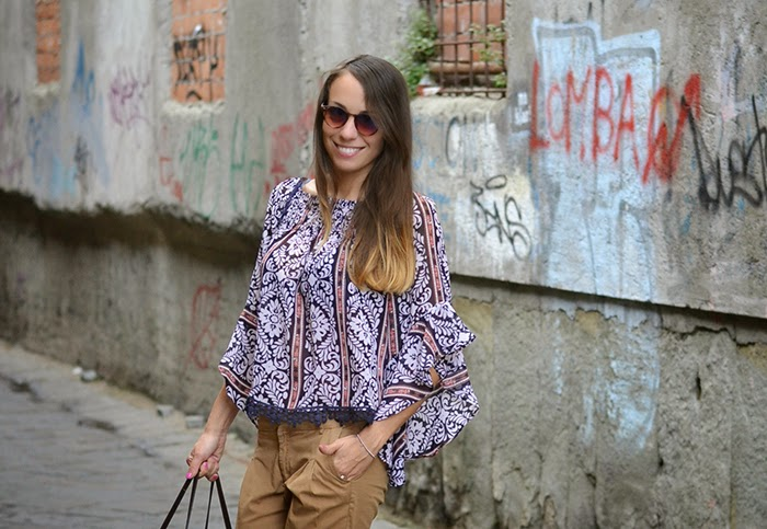 maglia boho style