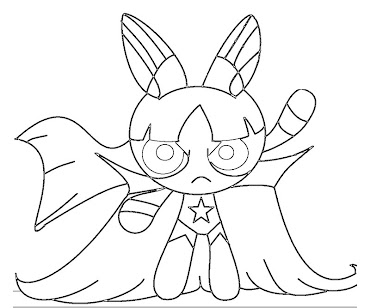 #3 Blossom Coloring Page