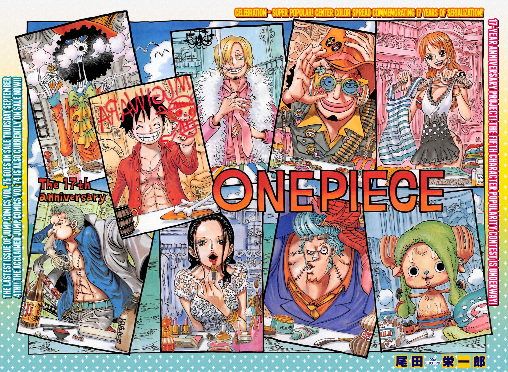 One Piece Chapter 756: Tầng 4 001