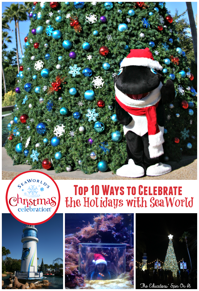 Top 10 Ways to Celebrate the Holidays with SeaWorld Christmas