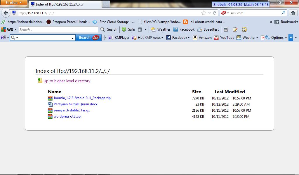 Konfigurasi web server, database server, dan ftp server linux debian 6