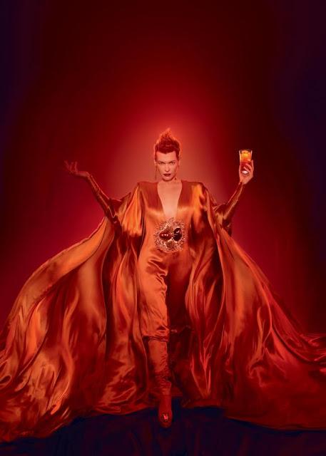 Milla Jovovich 2012 Campari calendar
