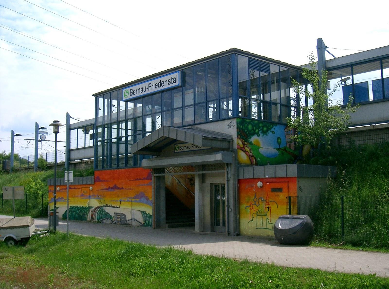 Bernau bei Berlin Bahnhof Friedenstal