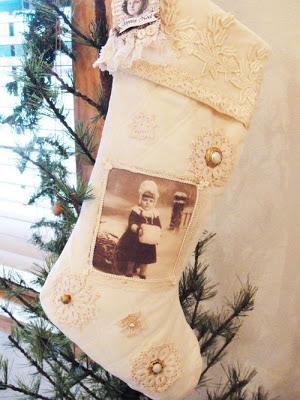 Bota de Natal Vintage