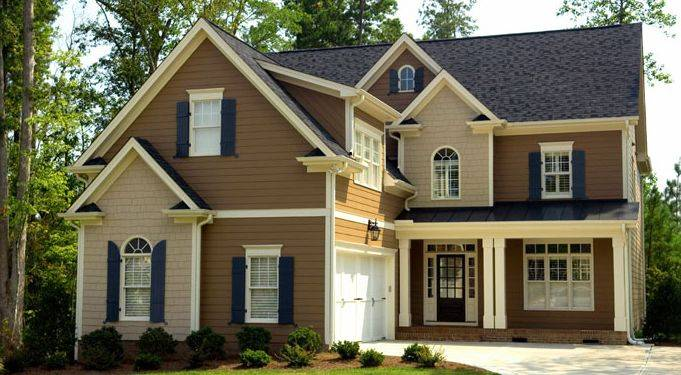 Economy paint supply exterior ideas that will turn your - Brown exterior house paint ...