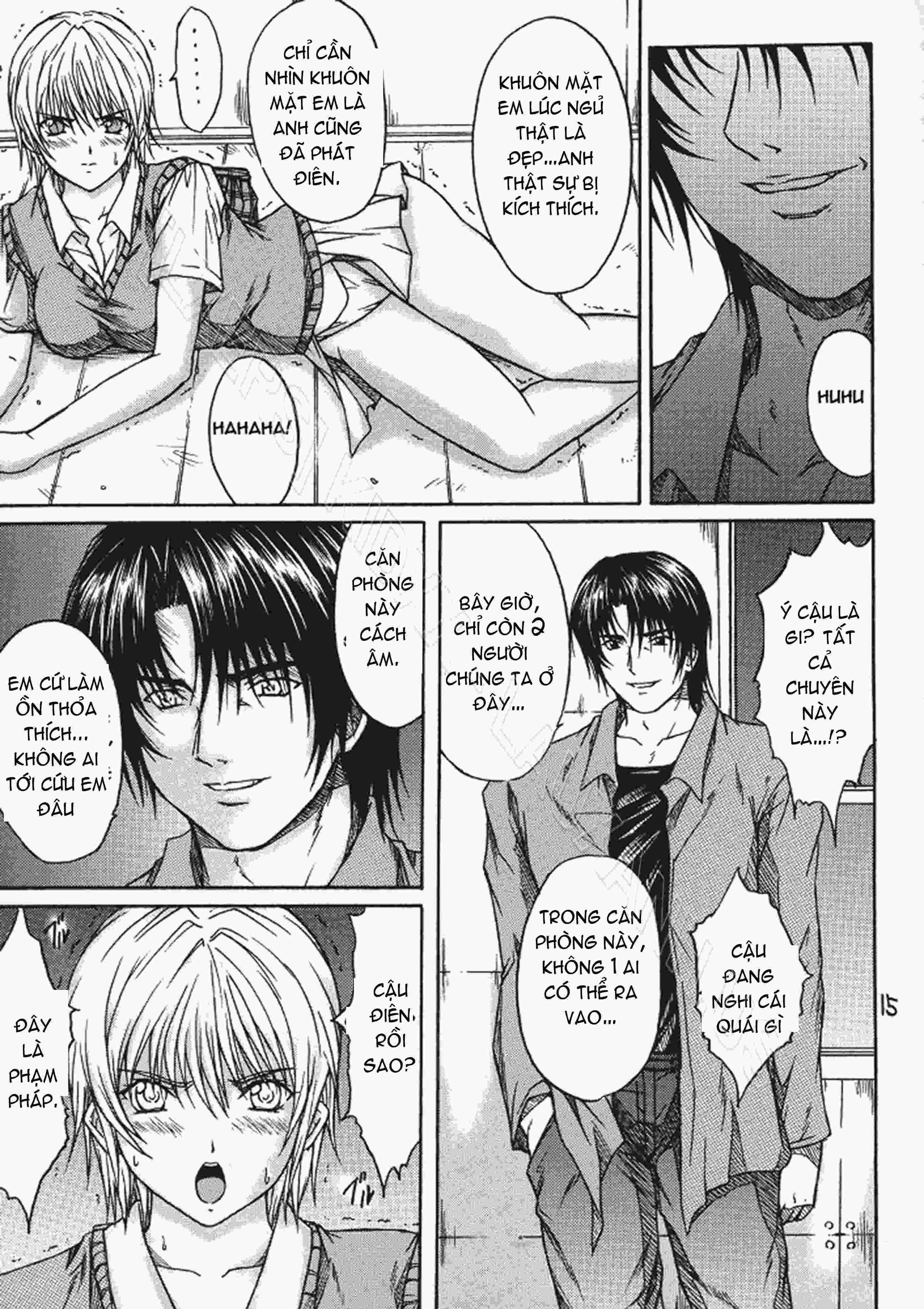TruyenHay.Com - Ảnh 14 - Ryoujoku Rensa Chapter 3