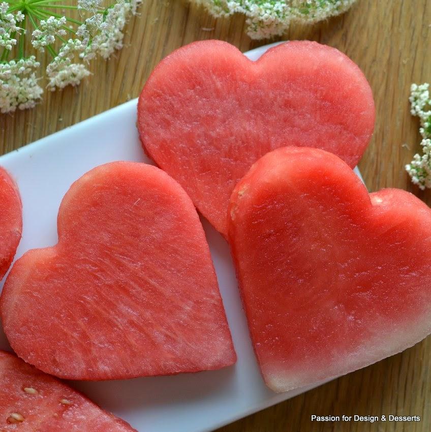 sydämellinen vesimeloni