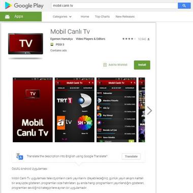 play google com - store - mobil canlı tv