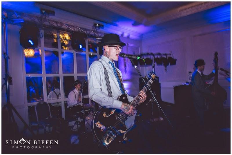 Wedding reception photography at Bailbrook House Somerset