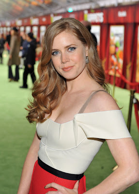Amy Adams Long Curls Hairstyle