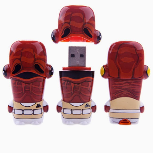 Memoria USB 8 GB Ackbar de Star Wars