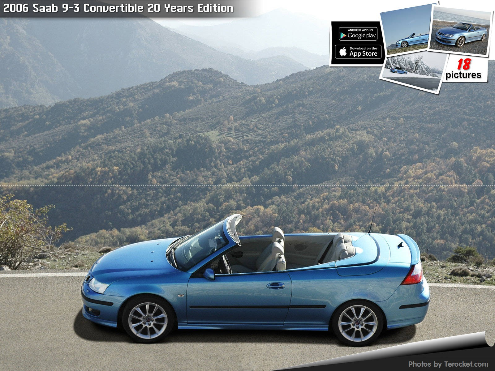 Hình ảnh xe ô tô Saab 9-3 Convertible 20 Years Edition 2006 & nội ngoại thất