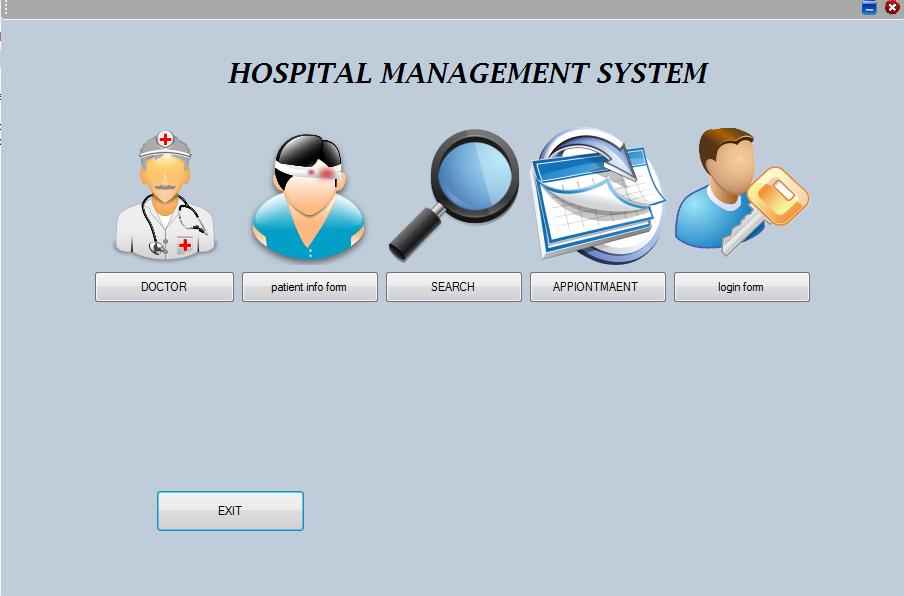Hospital Management System Logo Hospital Management System