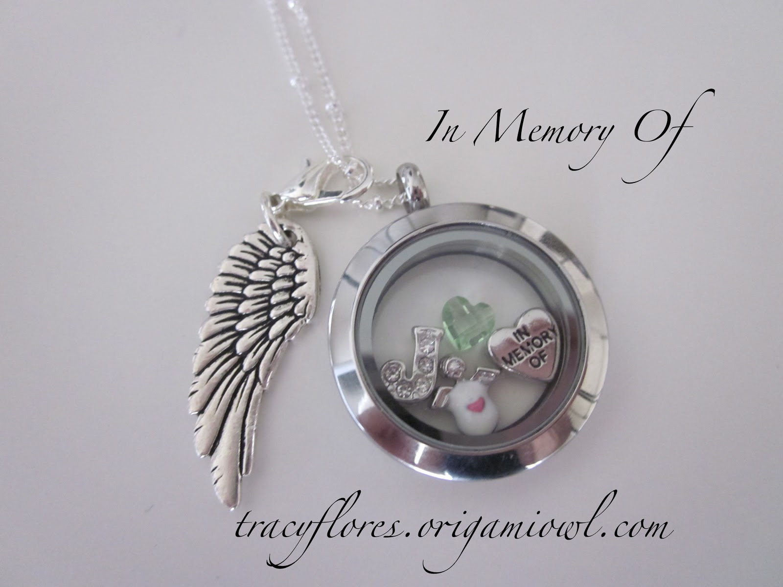 Origami owl lockets by tracy in memory of origami owl lockets by tracy jeuxipadfo Images