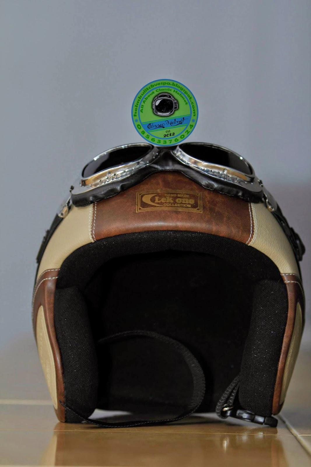 Helm Kulit Surabaya, Jual Helm Kulit, Helm Vespa, Helm CB, Helm Anak.