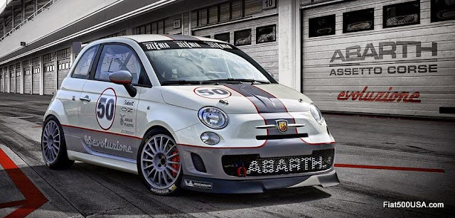 Abarth 695 Assetto Corse Evolution